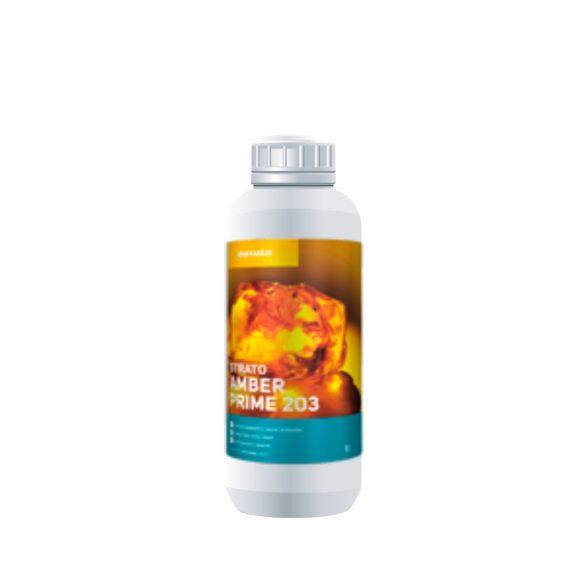 Strato Amber Prime 203 - Vízbázisú alapozó lakk méz árnyalatú pigmentációval (1 liter)